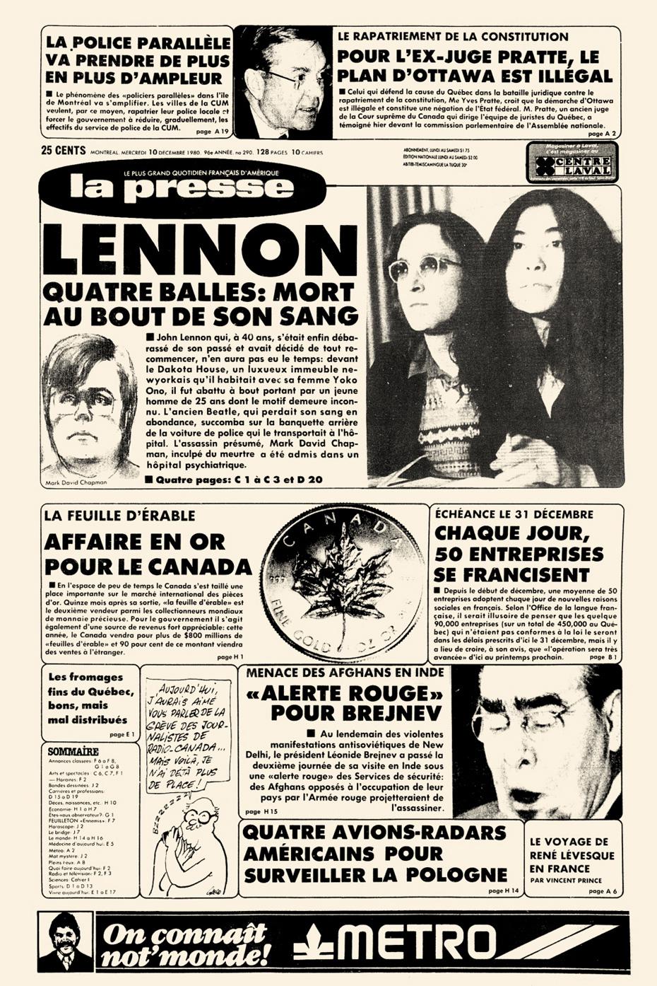 Achetez une page d 39 histoire de la presse for Le journal de la